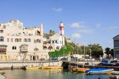 Porto di Giaffa Immagine Stock