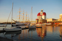 Porto di Gothenburg, Svezia Fotografia Stock Libera da Diritti