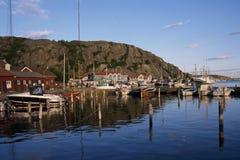 Porto di Grebbestad fotografia stock