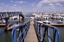 Porto di Haliguen a Quiberon in Francia Fotografie Stock