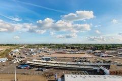 Porto di Harwich, Essex, Inghilterra, Regno Unito immagini stock