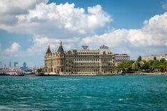 Porto di Haydarpasa, Costantinopoli, Turchia Immagine Stock Libera da Diritti