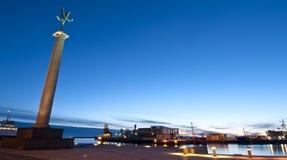 Porto di Helsingborg Fotografia Stock Libera da Diritti