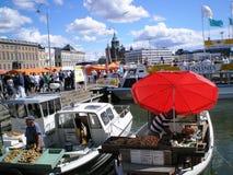 Porto di Helsinki Immagini Stock