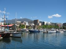 Porto di Hobart Fotografia Stock