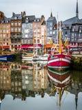 Porto di Honfleur Immagine Stock