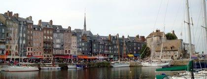 Porto di Honfleur immagini stock
