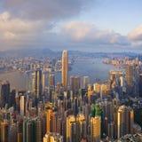 Porto di Hong Kong immagine stock