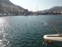 Porto di Kalymnos Fotografia Stock Libera da Diritti