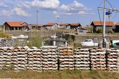 Porto di Larros in Francia Fotografie Stock Libere da Diritti