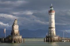 Porto di Lindau immagine stock