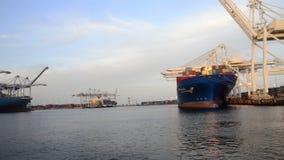 Porto di Long Beach video d archivio