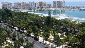 Porto di Malaga Fotografia Stock
