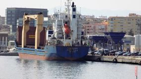 Porto di Malaga-Andalusia-Europa Immagine Stock