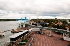 Porto di Mariehamn Immagini Stock Libere da Diritti