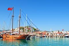 Porto di Marmaris Fotografie Stock Libere da Diritti