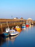 Porto di Maryport immagini stock