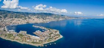 Porto di Messina Fotografia Stock Libera da Diritti