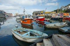 Porto di Mevagissey, Cornovaglia, Inghilterra fotografie stock libere da diritti