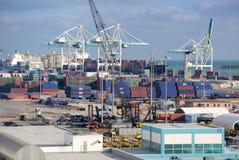 Porto di Miami fotografia stock
