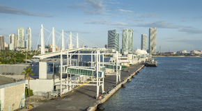 Porto di Miami, U.S.A. immagine stock libera da diritti