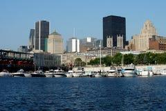 Porto di Montreal Immagini Stock