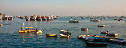 Porto di Mumbai Fotografie Stock