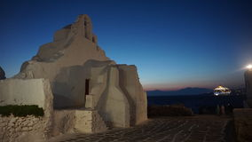 Porto di Mykonos, isola di Mykonos, Grecia fotografie stock libere da diritti