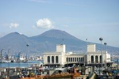 Porto di Napoli Immagine Stock