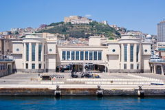 Porto di Napoli Fotografie Stock