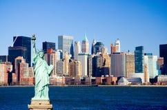 Porto di New York Immagine Stock Libera da Diritti