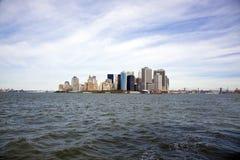 Porto di New York City Immagini Stock