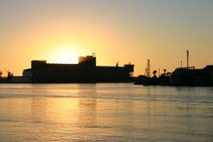 Porto di Newcaslte Fotografie Stock