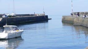 Porto di Newquay nel Galles Regno Unito fotografia stock