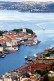 Porto di Oslo, Norvegia Fotografia Stock Libera da Diritti