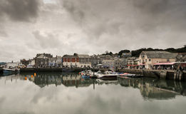 Porto di Padstow, Cornovaglia del nord, Inghilterra Fotografia Stock Libera da Diritti