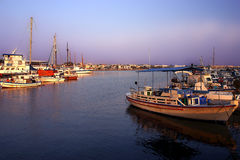 Porto di Paphos fotografia stock libera da diritti