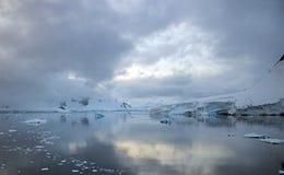 Porto di paradiso, Antartide Fotografie Stock