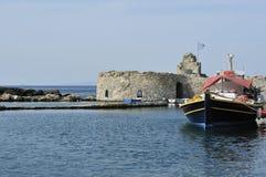 Porto di Paros Immagini Stock Libere da Diritti