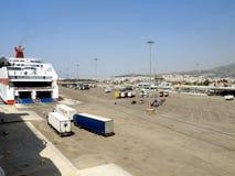 Porto di Patras, Grecia Immagine Stock