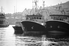 Porto di pesca Fotografie Stock