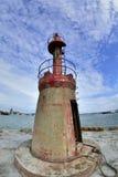 Porto di pesca del sud di Liao a Hsinchu, Taiwan fotografia stock libera da diritti