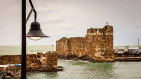 Porto di pesca di Byblos Libano Immagine Stock Libera da Diritti