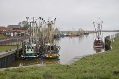 Porto di pesca di Greetsiel, Germania Immagini Stock