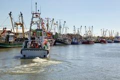 Porto di pesca di somma del ¼ di BÃ Fotografia Stock Libera da Diritti