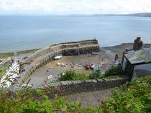 Porto di pesca in Inghilterra Fotografie Stock