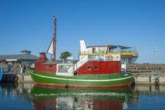 Porto di pesca in Sassnitz sull'isola della GEN del ¼ di RÃ fotografie stock libere da diritti
