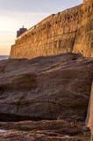Porto di Portreath Immagini Stock Libere da Diritti
