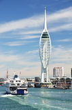 Porto di Portsmouth Immagini Stock