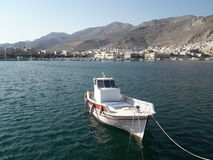 Porto di Pothia, Kalymnos Grecia Fotografia Stock